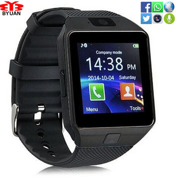Wearable Device DZ09 Bluetooth Smart Watch Support SIM TF Card Wrist Phone Watch Android smartphone sport wristwatch Women Men