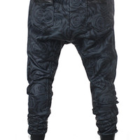 ASH ROSE Drop Crotch Joggers