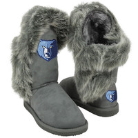 Cuce Shoes Memphis Grizzlies Ladies Fanatic II Boots - Gray