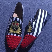 Cl Christian Louboutin Loafer Style #2376 Sneakers Fashion Shoes - Best Online Sale