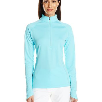 Licensed Golf Callaway  Women's Opti-Shield Embossed 1/4 Zip Pullover - Pick Size & Color