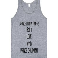 Once Upon A Time-Unisex Athletic Grey Tank