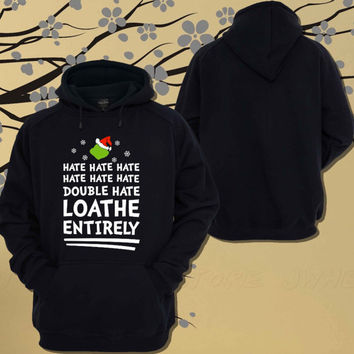 Loathe Entirely Hoodie.Sweater.Jumper - Size Unisex Hoodie - For Women,Men