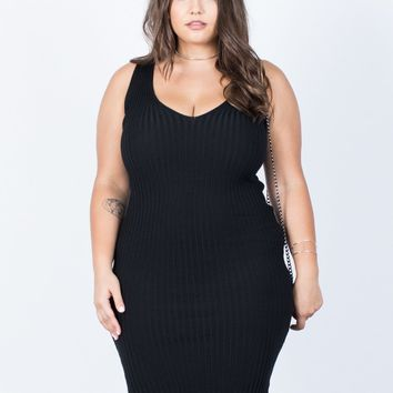 Plus Size Go-To Bodycon Dress