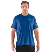 Men's UA Tech™ Shortsleeve T-Shirt Tops by Under Armour Extra Large EMPIRE BLUE
