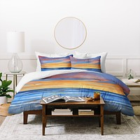 Rosie Brown Sunset Reflections Duvet Cover