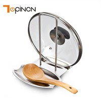 Stainless Spoon and Lid Holder