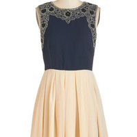 ModCloth Short Length Sleeveless A-line Sophisticated Sass Dress