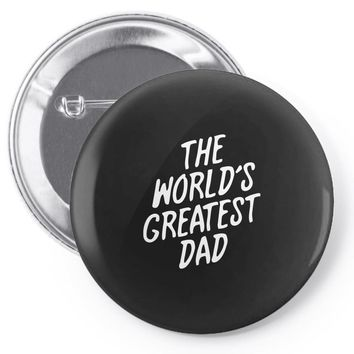 World's Greatest Dad Pin-back button