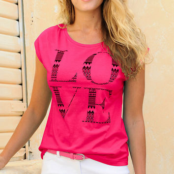 Womens Casual Loose T-Shirt Gift 64