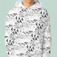 Hoodie Full Print - Unisex Size S-3XL on We Heart It