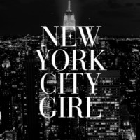 New York City Girl Black & White iPhone Case Art Print by RexLambo