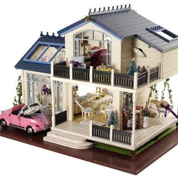 DIY Dollhouse - House in Provence - 🇫🇷🌺🏠🌹💜