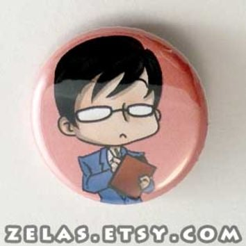 Ouran Host Club - Kyoya Button