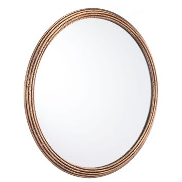 Antique Zero Wall Mirror, Large