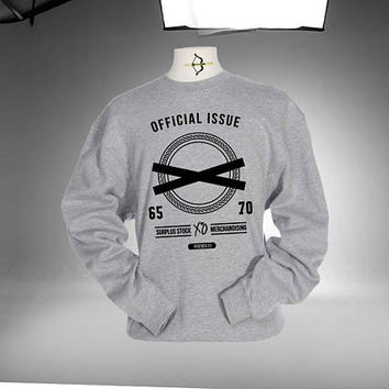 XO The Weeknd Sweatshirt Grey and White Color Unisex Sweatshirts