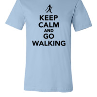 Keep calm and go Walking - Unisex T-shirt