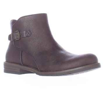 Bare Traps Caine Short Ankle Boots, Dark Brown, 5 US