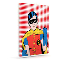 "Roberlan ""The Boy Wonder Pop"" Robin Canvas Art"