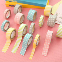 5 pcs masking 5m washi tape DIY album scrapbook Decoration sticky Stationery school supply paper office adhesive tape 02402
