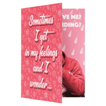 Drake In My Feelings Keke Do You Love Me Anniversary Valentines Card (PLAYS SONG)