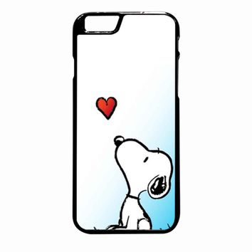 Snoopy Love iPhone 6 Plus case