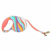 Oh Joy! Retractable Pet Leash - White/Coral/Blue/Yellow : Target