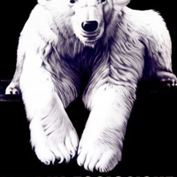 Bale Zoological Garden Polar Bear Fine Art Print