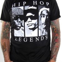 Tupac Shakur T-Shirt - Tupac And Biggie