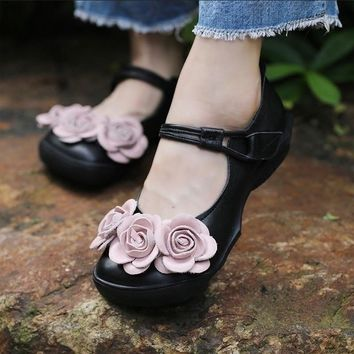 women 2018 genuine leather handmade flat low heel boat driving shoes female moccasins loafers nhl imter 159-6