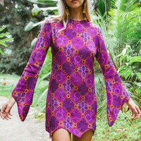 Voodoo dress in plum