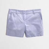 "Factory 5"" oxford short - solid - FactoryWomen's Shorts - J.Crew Factory"