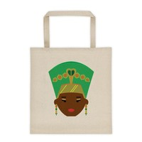 Melanin Queen Canvas Tote bag