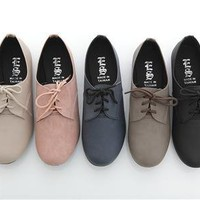Multi-color Muted Oxford Flats