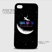 Peter Pan Take Me To Neverland 3D Image Cases for iPhone 4/4S, iPhone 5/5S, iPhone 5C, iPhone 6, iPhone 6 Plus, iPod 4, iPod 5, Samsung Galaxy (S3, S4, S5, S6) by FixCenters