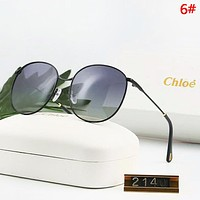 Chloe Fashion New Polarized Women Sun Protection Sunscreen Travel Glasses Eyeglasses 6#