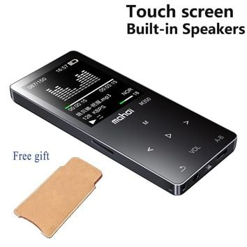 Original Touch Screen HIFI MP3 Player 8GB  Metal High Sound Quality Entry-level Lossless Music Player Support TF Card FM