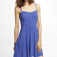 BLUE CAMI SUNDRESS