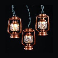 Brown Lantern Party String Lights - Lantern String Light Strands & Sets - Oogalights.com - More Than 1,000 Party & String Light Bulbs!