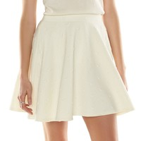 Disney's Minnie Mouse a Collection by LC Lauren Conrad Quilted Skater Skirt