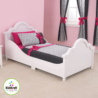 Raleigh Bed - White: Raleigh Toddler Bed - White
