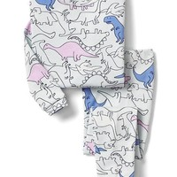 Rosy dinosaur sleep set | Gap