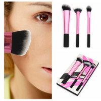 Professional Pink Makeup Brushes Set Eye Shadow Powder Face Brush