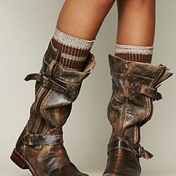 Womens Cafe Racer Boot Distressed From Free People Epic