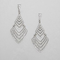 BKE Glitz Layered Earring