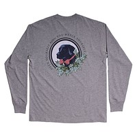 Deck Yourself Long Sleeve Tee in Grey by Southern Proper - FINAL SALE