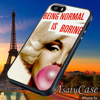 Marliyn Manroe - Samsung Galaxy S2/S3/S4,iPhone 4/4S,iPhone 5/5S,iPhone 5C,Rubber Case,Cell Phone,Case,Accessories - 251013/CA20