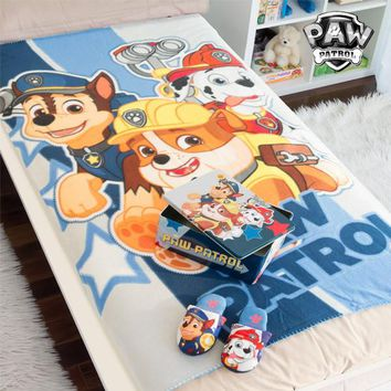 Paw Patrol Metal Box with Blanket and Slippers