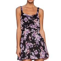 Lucca Couture Mini Sleeveless Dress in Black