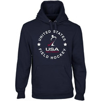 USA Field Hockey Full Circle Pullover Hoodie - Navy Blue